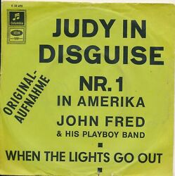 Judy In Disguise - John Fred + His Playboy Band - Single 7 Vinyl 40/21