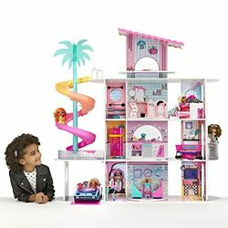 Lol Surprise Omg House Of Surprises – New Real Wood Doll House W 85+ Surprises