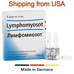 Heel Lymphomyosot Ampoules Solution For Injection 5 Amps X 1.1 Ml