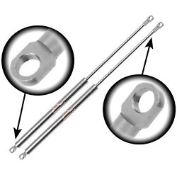 Qty 2 3/8 Eyelet End Lift Supports Stainless Steel 20 Extended X 10lbs