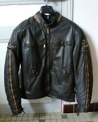 Helstons Leather Jacket And039aceand039 Rag