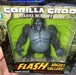 Dc Direct Deluxe Action Figure Gorilla Grodd The Flash Rogues Gallery Rare
