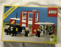 Lego 1490 Vintage And Rare Bank - 1980and039s - Brand New- Never Opened