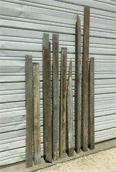 Reclaimed Wainscoting Bead Board Pieces, Architectural Salvage Vintage A6,