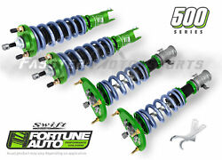 Fortune Auto Coilovers 500 Swift Series 8k F 6k R For 03-07 Forester Sg Fa500-sg