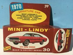 1970 Lindberg Mini-lindy 30 Dodge Charger Complete In Box 164