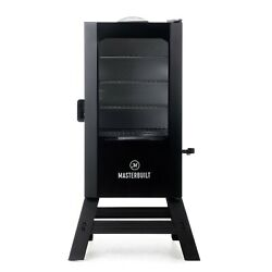 New Masterbuilt 30 Inch Digital Electric Smoker With Window And Legs In Black Us
