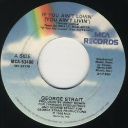 George Strait - If You Ainand039t Lovinand039 You Ainand039t Livinand039 - Vinyl Record.. - D8100d