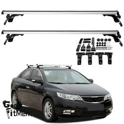 2x 48 Car Roof Rack Cross Rail Bar Luggage Bicycle Boat Carrier For Kia Forte