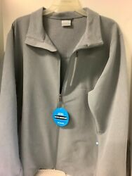 Menand039s Columbia Big Pine Soft Shell Full Zip Jacket Size Xxl 2x Water Resistant