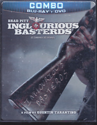 Inglourious Basterds Steelbook Blu-ray Dvd Combo Canadian Limited Edition Qt