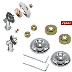For Stihl Lawnmower-blade Adapter Kit For Stihl String Trimmers Brush Cutter 2pc