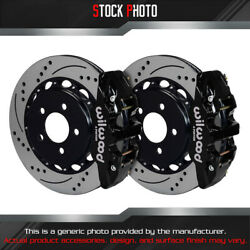 Wilwood And Slotted Rotor Aero4 Caliper R Brake For Oe Parking Brakes For 08 G8