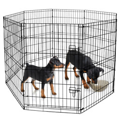 Vibrant Life 36h Indoor And Outdoor Pet Exercise Play Pen