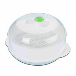 Plastic Round Microwave Steamer Lid Europe Style Home Kitchenware Cooking Tools