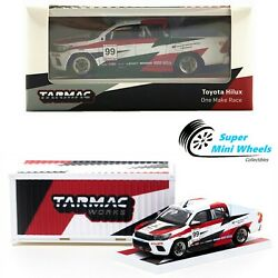 Tarmac Works 164 Toyota Hilux One Make Race With Container