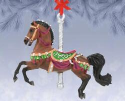New Breyer 2021 Holiday Collection - Herald - Carousel Ornament - 700625