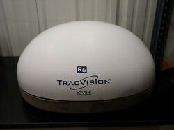 Kvh Tracvision R6 02-1646-01 Tvr6 Satellite Tv Antenna With Dish And Dome