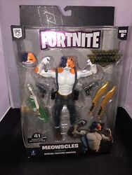 Fortnite Legendary Series Brawlers Meowscles Video Game Action Figure Jazwares