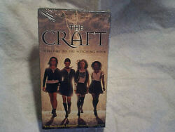 The Craft Vhs Movie Sealedwatermark Rare1996 First Printing
