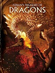 Fizbanand039s Treasury Of Dragons Alternate Art Cover - Dandd Dungeons And Dragons Book