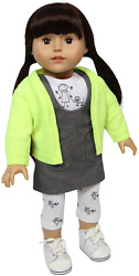 The New York Doll Collection City Girl 18 Inch/46 Cm Soft Body Doll With Smooth