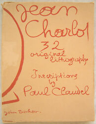 Jean Charlot Signed 1933 Picture Book - 32 Original Color Lithographs