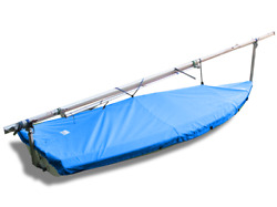 Vanguard 15 Sailboat - Boat Deck Cover - Polyester Royal Blue Top Cover