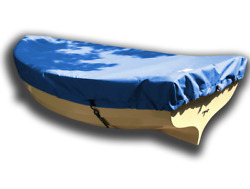 Fatty Knees 7 Sailboat - Boat Deck Cover - Polyester Royal Blue Top Cover