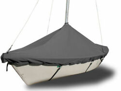 Boat Mast Up Peaked Cover To Fit Hobie One 14 Sailboat - Polyester Charcoal Gray