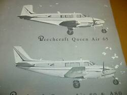 Beechcraft Queen Air 65 80 And A80 Parts Catalog