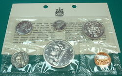 Canada 1965 Proof-like Set Silver Type I 6 Coins