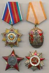 Russian Soviet Wwii Orders And Medals And Badges Docs Group