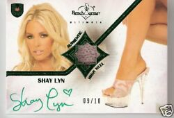 Benchwarmer Ultimate - Shay Lyn - Auto Shoe Card /10