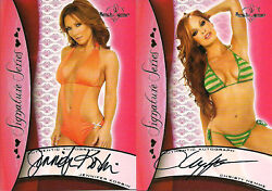 2010 Benchwarmer Red Back Auto Complete Set - Autos 1-8