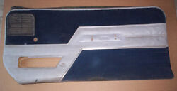 86 Dodge Shelby Left Door Panel --check This Out --