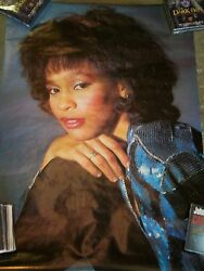 Whitney Houston - Poster 1986 Anabas Posters Printed In England