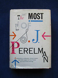 S.j. Perelman The Most Of S.j. Perelman Signed By Perelman To His Daughter Abby