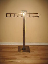Brass Coach Purse Department Store Display Rack VHTF