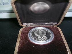 1977 Russia Olympic Platinum Proof 150 Roubles Moscow Olympic Logo