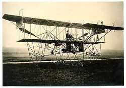 Russian Wwi Air Force Airplane Kennedy Real Photo