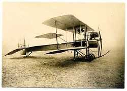 Russian Wwi Air Force Airplane Gakkel Vii Real Photo