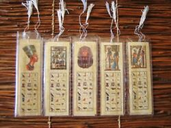 Wholesale Of 500 Authentic Collectible Egyptian Themes Art Papyrus Book Marks