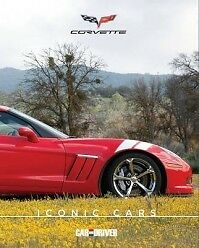 Chevy Corvette--iconic Cars Brand New Book From Car And Driver Archives2011