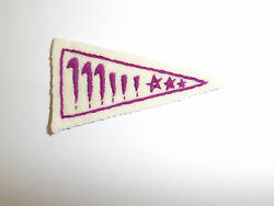 B0950 Wwii Us Navy Oss Saco Patch Hand Embroidered On Cotton C19a14