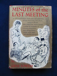 Minutes Of The Last Meeting Signed By Gene Fowler To Director John Ford