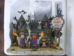 Hawthorne Village - The Munster's Halloween Coll., Last Chance Gas A-4501