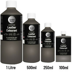 Leather Colourant For Repair And Recolour / Dye Stain Pigment Paint Colour