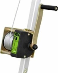 Kratos Aluminium Tripod Hand Winch With 20mtr Wire Belts/ Harnesses/ Lanyards
