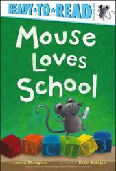 Mouse Loves School By Lauren Thompson English Hardcover Book Free Shipping